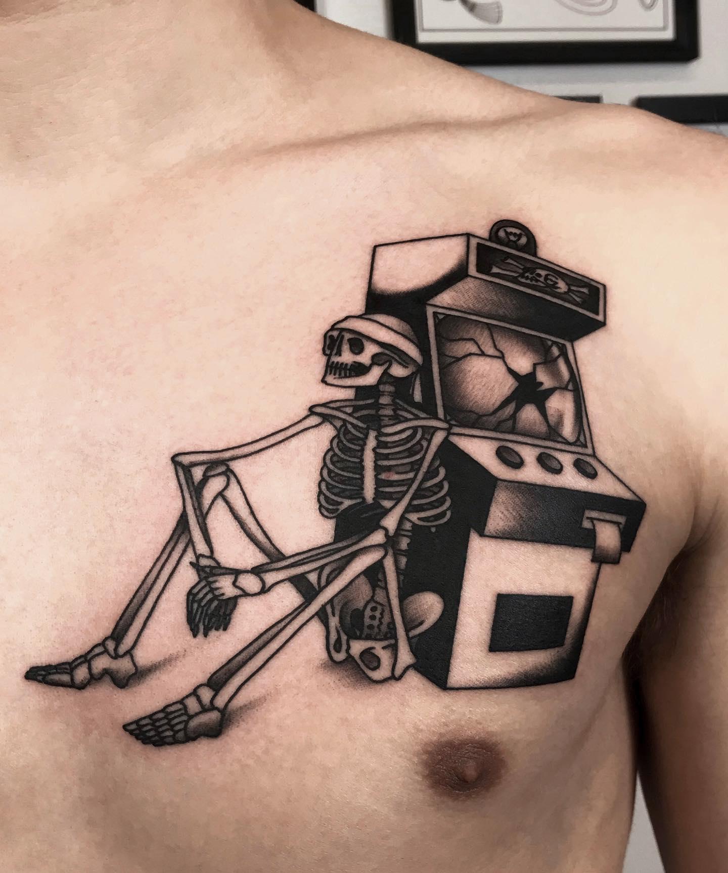 Maksim Horror Tatuaże